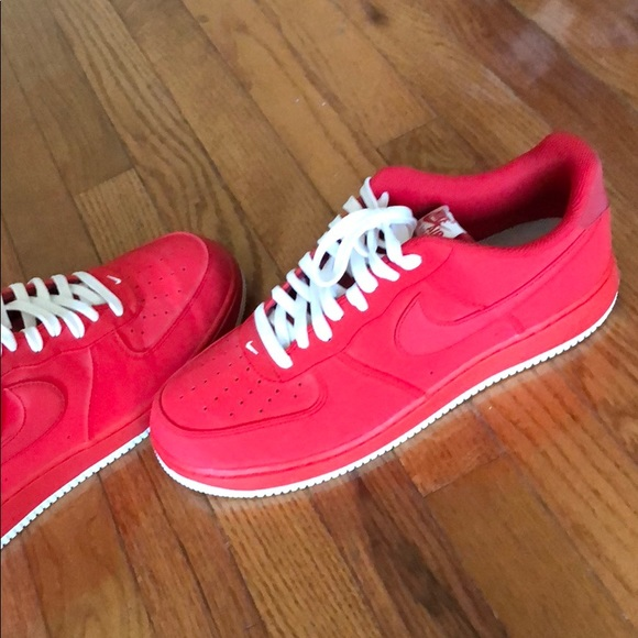 Nike Shoes | Nike Air Force One Red
